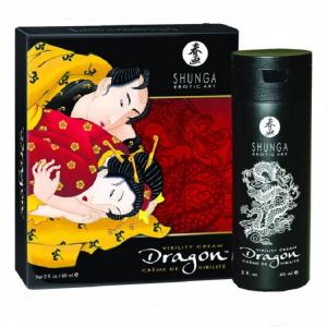 SHUNGA DRAGON 5200 SG. Обзор интимного мужского крема для лучшего возбуждения